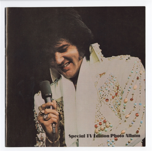 Elvis Presley Original Special TV Edition Photo Album Program