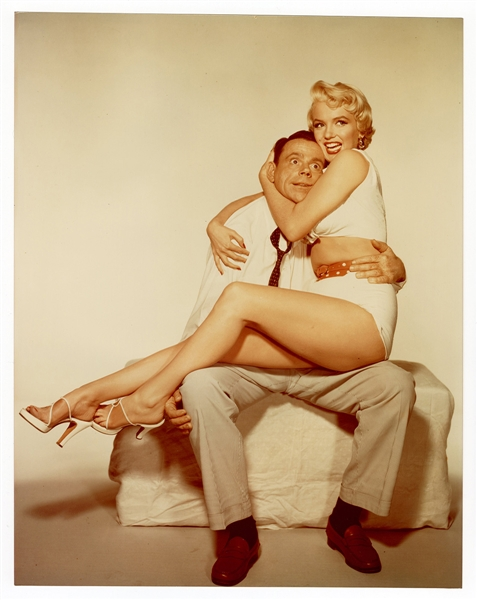 "Marilyn Monroe and Tom Ewell  ""Seven Year Itch"" Original 11 x 14 Promotional Photograph"