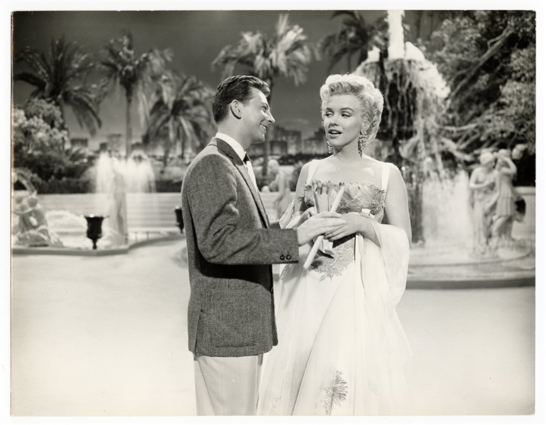 "Marilyn Monroe and Donald OConnor  ""Theres No Business Like Show Business"" Original 11 x 14 Movie Photograph"