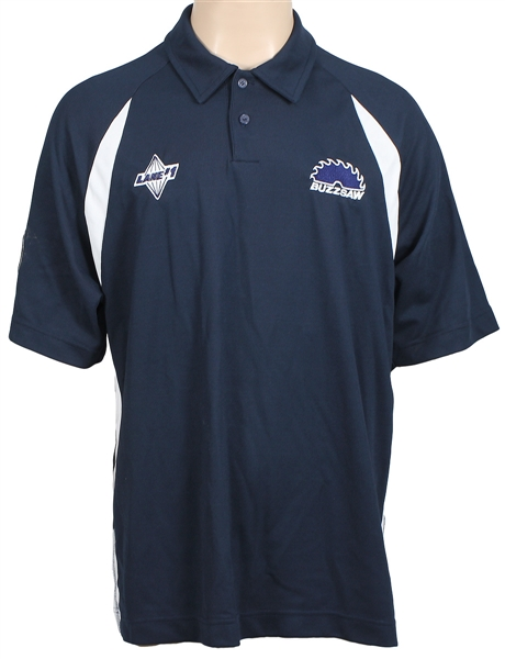 Mark Roths Tournament Worn Dennys PBA Lane #1 Buzzsaw Bowling Shirt
