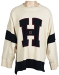 "Michael Jacksons Personally Owned Limited Edition Vintage Tommy Hilfiger Sweater Worn in ""Vibe Magazine"""