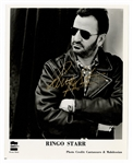Ringo Starr Signed Original Promotional Photograph