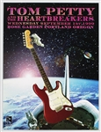 Tom Petty and The Heartbreakers Original 1999 Concert Poster