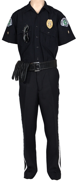 "George Michael ""Outside"" Music Video Worn L.A.P.D. Costume"