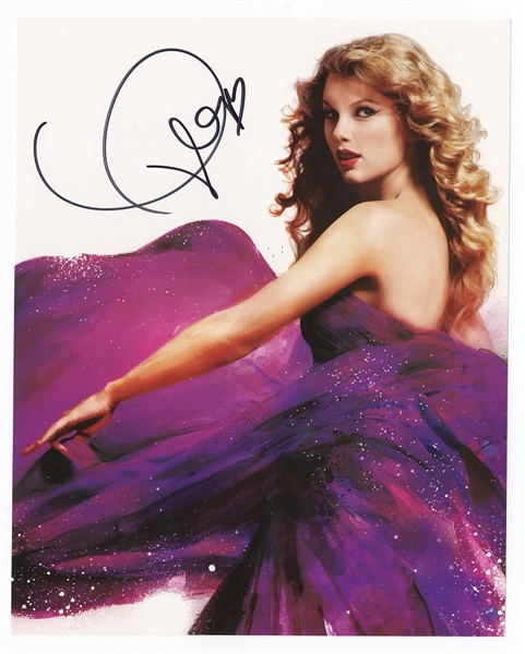 Taylor Swift Signed Photograph