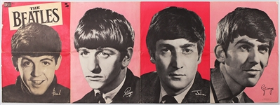 "Beatles Original ""Dell"" Poster Circa 1963-64"