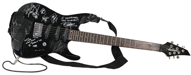 "Evanescence  ""Going Under"" Music Video Used and Signed Guitar"