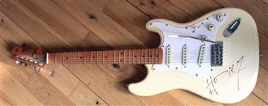 Hozier Owned, Played and Signed Cream Electric Guitar