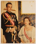 Princess Grace and Prince Rainier of Monaco Signed Picture