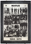 The Beatles 1976 Original Capitol / Apple 1962 – 1970 Promotional Poster
