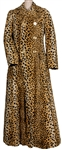 Madonna Owned and Re-Gifted A faux leopard fur coat by Dolce & Gabanna, mid 1990's