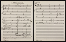"Steppenwolfs John Kay Handwritten ""Five Fingered Discount"" Music Manuscript"