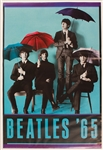 Beatles 65 Over-Sized Original Apple Promotional Poster