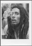 Bob Marley Original Adrian Boot Stamped Photograph