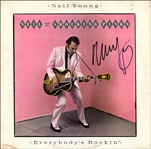 "Neil Young Vintage Signed ""Everybodys Rockin"" Album"