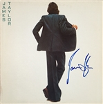 "James Taylor Signed ""In The Pocket"" Album"
