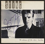 "Sting Signed ""The Dream of the Blue Turtles"" Album"