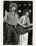1980's Original Led Zeppelin Photograph - Robert Plant & Jimmy Page