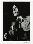 Neil Young Photograph Signed by Photographer Robert Altman (11 X 14)