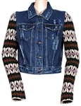 Katy Perry Owned Denim Sweater Jacket Worn with John Mayer