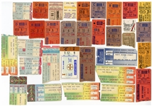 Large Rock & Roll Concert Ticket Stub Archive Featuring The Who, KISS, The Grateful Dead and More