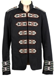 Pusha T Owned & Worn Embroidered Runway Valentino Jacket Worn with Kanye West