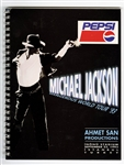 Michael Jackson Owned & Used 1993 Dangerous World Tour: Istanbul Turkey Concert Itinerary