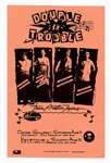 Stevie Ray Vaughan Double Trouble Original 1979 Early Concert Flyer