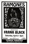 The Ramones Original Tower Theater Concert Poster