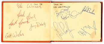 Led Zeppelin Signed Autograph Book (4)