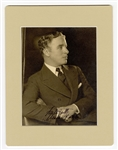 Charlie Chaplin Signed and Inscribed Photograph JSA LOA