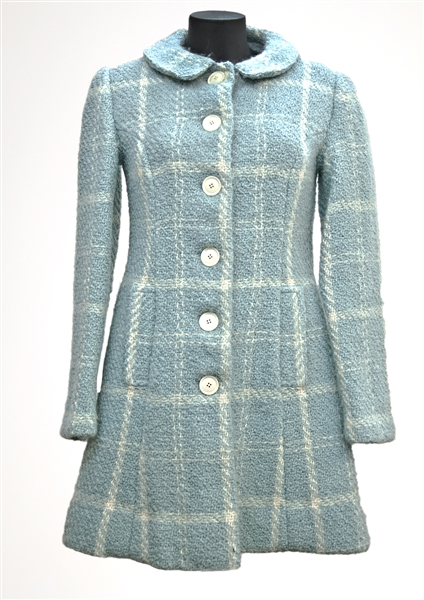 "Spice Girl Emma Bunton ""Stop"" Music Video Production Worn Blue Checked Jacket"