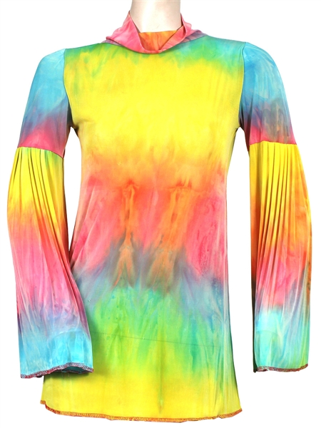 "Miley Cyrus ""The Voice"" Worn Rainbow Top"