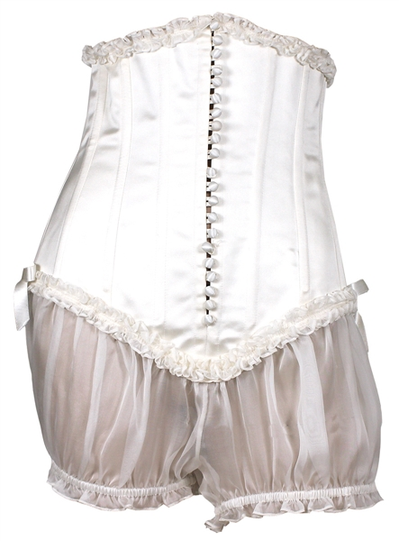Rihanna Vogue Paris Magazine Photo Shoot Worn White Corset