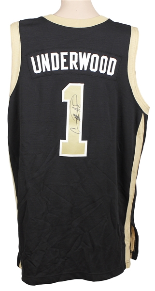 Carrie Underwood Stage Worn and Signed UCF  Basketball Jersey
