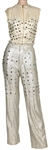 "Michael Jackson ""Victory Tour"" Era Worn Silver ""Suit of Lights"""