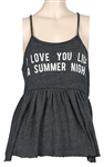 "Ariana Grande ""Victorious"" Cast Reunion Worn ""Love You Like A Summer Night"" Shirt"