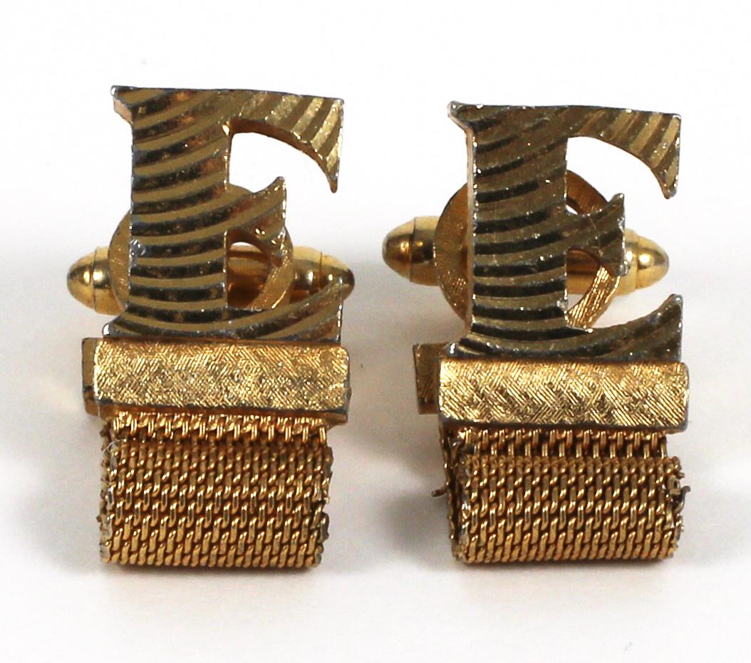 Elvis Presley Cufflinks Taking Care of Business Elvis Handmade Unique Cufflinks