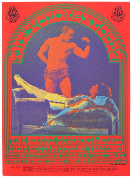 The Youngbloods Original 1967 Avalon Ballroom Concert Poster