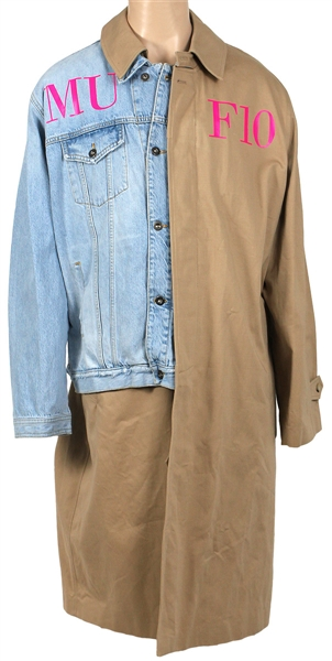 Post Malone 2019 UK Tour Worn MUF10 Denim Trench Coat