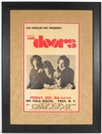 The Doors Early Original 1967 R.P.I. Field House College Concert Poster