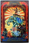 Further (Grateful Dead Members Phil Lesh and Bob Weir) Original 2010 New Years Eve Concert Poster