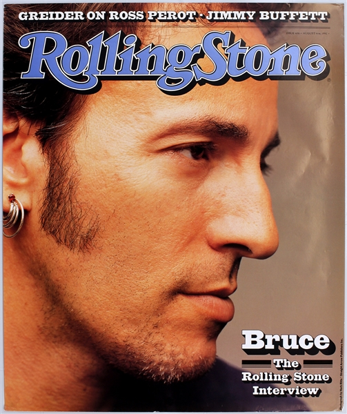 Bruce Springsteen Original Rolling Stone Magazine Cover Poster