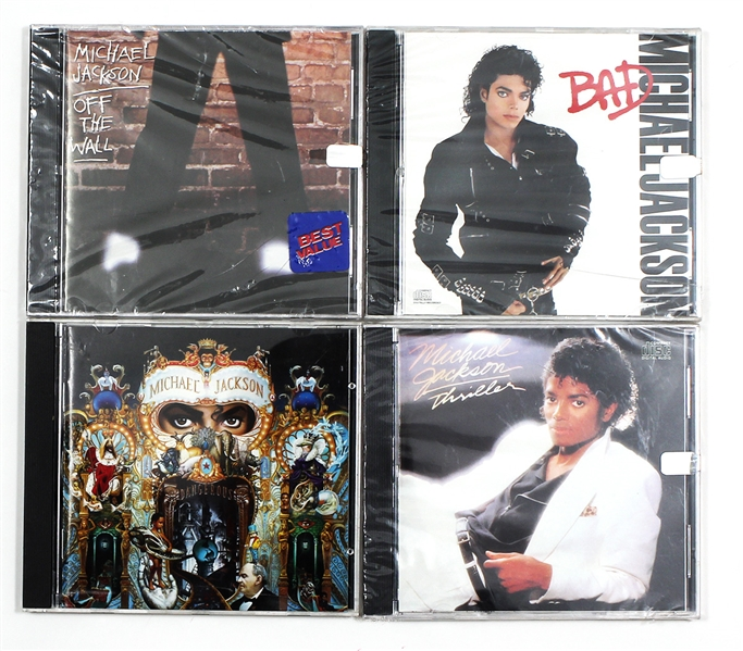 Michael Jackson Personally Owned C.D.s (4)