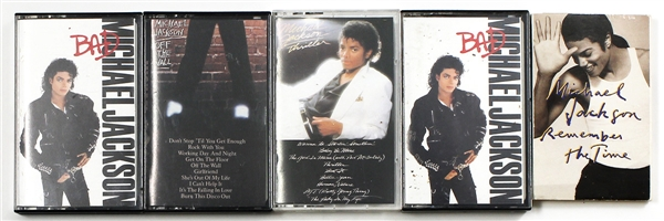 Michael Jackson Personally Owned  Cassettes