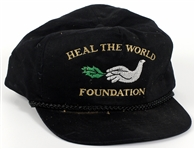 "Michael Jackson Personally Owned ""Heal The World Foundation"" Hat"