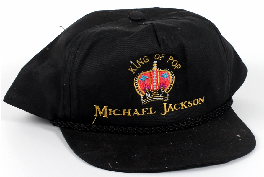"Michael Jackson Personally Owned ""Michael Jackson King of Pop"" Hat"