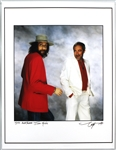 Mick Fleetwood & John McVie Original Neal Preston Signed Over-Sized Giclée Artists Print