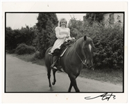 Stevie Nicks Original Neal Preston Signed and Stamped Photograph