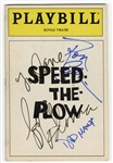 "Madonna Signed ""Speed the Plow"" Playbill JSA LOA"